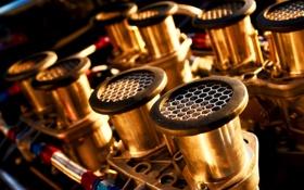 Обои макро, двигатель, тачки, ford, форд, движок, cars