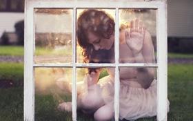 Картинка девушка, настроение, окно