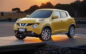 Картинка Nissan, ниссан, джук, Juke, AU-spec, 2015, YF15