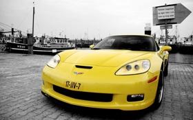 Обои cars, auto, z06, chevrolet corvette