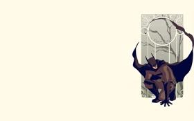 Картинка плащ, узор, маска, бэтмэн