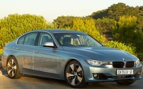 Картинка бмв, BMW, автомобиль, гибрид, ActiveHybrid 3