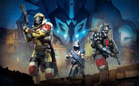 Картинка Оружие, Плащ, Bungie, Activision, Destiny, Экипировка, Судьба