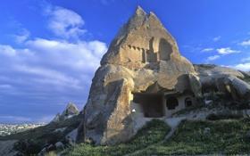 Обои лестница, Турция, священная гора