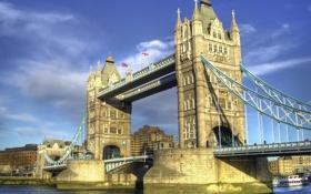 Обои мост, Лондон, архитектура, Тауэр