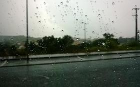 Картинка стекло, дождь, настроение, погода
