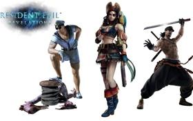Картинка девушка, оружие, птица, меч, тату, очки, дробовик
