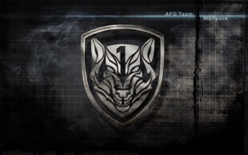 Обои logo, 2010, medal of honor, textures, wolf