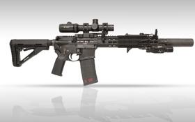 Картинка оружие, винтовка, карабин, штурмовая, полуавтоматическая