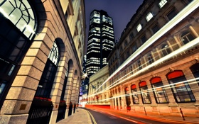 Картинка ночь, англия, лондон, light, london, night, england