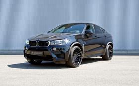 Картинка бмв, BMW, Hamann, F16, 2015, X6 M, кросовер