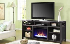 Обои дизайн, стиль, комната, интерьер, телевизор