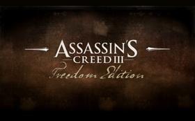Обои Creed, Assassins, American, Revolution