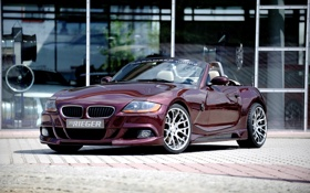 Картинка бмв, BMW, E85, Rieger, 2010