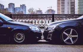 Обои машина, Авто, диски, chevrolet, Lada, бампер, auto