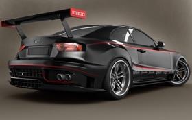 Обои Audi, Back, GTR