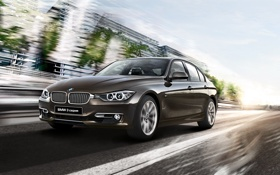 Картинка бмв, BMW, F30, 3 series, седан, Sedan, 2015