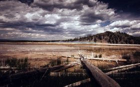 Картинка природа, Wyoming, Yellowstone National Park