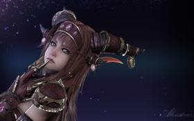Обои рендеринг, WoW, World of Warcraft, Alexstrasza