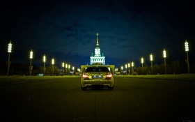 Картинка машина, авто, BMW, Тень, auto, МГУ, смотра