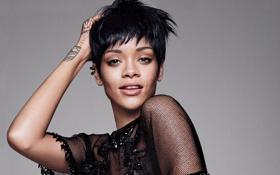Картинка знаменитость, Rihanna, Рианна, певица, стрижка