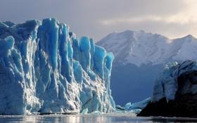 Картинка ice, water, iceberg, glacier