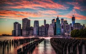 Картинка United States, New York, Manhattan, Tulton Ferry