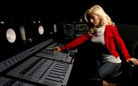 Картинка music, blonde, song, aguilera