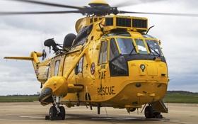Картинка вертолёт, транспортный, Sea King, «Си кинг», Westland