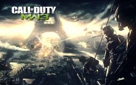 Картинка Call of Duty, танки, MW3