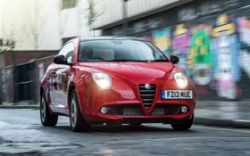Обои свет, фары, Alfa Romeo, MiTo, передок, Live