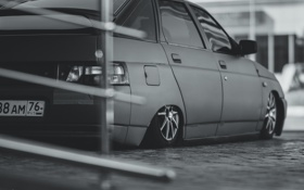 Обои машина, авто, карбон, Lada, auto, 2112, ВАЗ