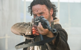 Картинка Ходячие мертвецы, Рик Граймс, Andrew Lincoln, The Walking Dead