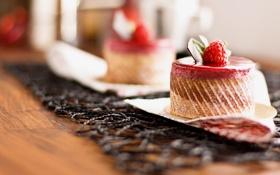 Картинка сладость, пирожное, малинка, Malinka, sweet cake