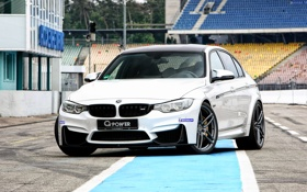 Обои бмв, BMW, G-Power, F30, 2015