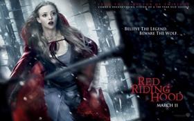 Картинка ужасы, Красная шапочка, сказка, триллер, бежит, девушка, 2011