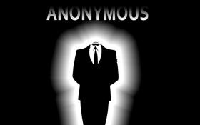 Обои костюм, anonymous, анонимус