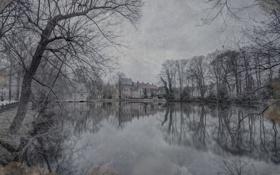 Обои вода, city, город, озеро, фотограф, photography, Lies Thru a Lens