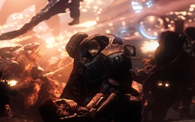 Картинка война, битва, пришельцы, mech, XCOM: Enemy Within, xcom, Enemy Within