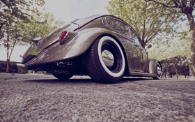 Обои volkswagen, cars, auto, beetle, Tuning, wallpapers auto, Tuning cars