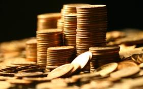 Обои gold, coins, economy