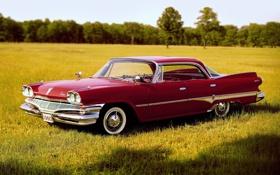Обои поле, Додж, 1960, Dodge, передок, Дарт, Sedan