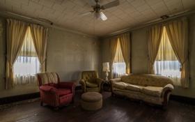 Картинка комната, диван, кресло