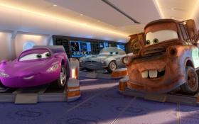 Картинка спорт, мультфильм, sport, Pixar, spy, racing, Тачки 2