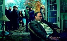 Обои сериал, клан сопрано, Sopranos