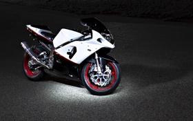 Обои мотоцикл, Suzuki, motorcycle, спортбайк, сузуки, спортивный