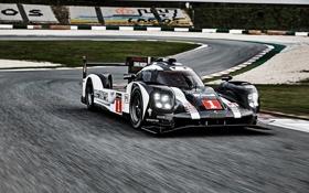 Обои Porsche, суперкар, порше, трек, Hybrid, 919