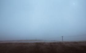 Обои пейзажи, обои, фото, туман