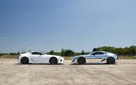 Обои белый, серебристый, профиль, lexus, white, лексус, silvery