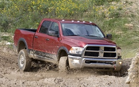 Обои power wagon, ram 2500, dodge, off-road